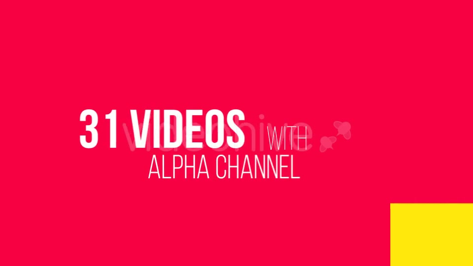 31 Transitions Alpha Mattes - Download Videohive 9284802