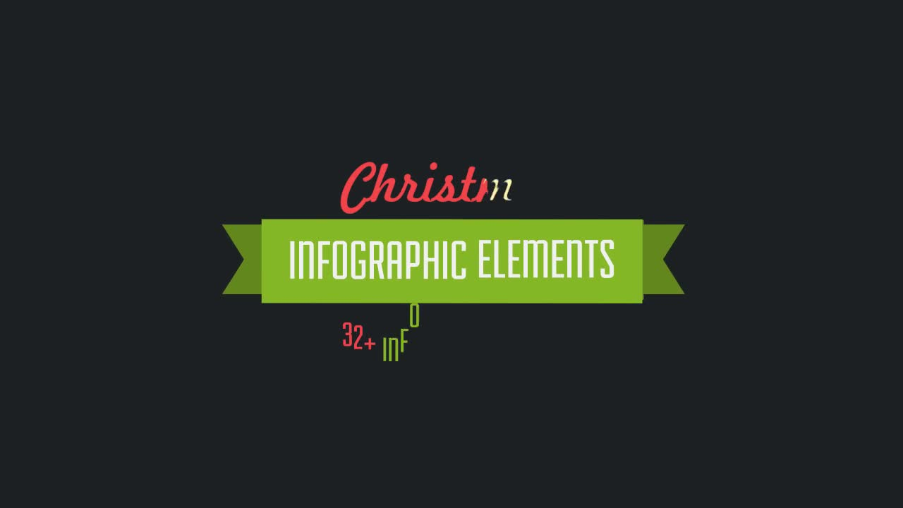 32 Christmas Infographic Elements - Download Videohive 9753582