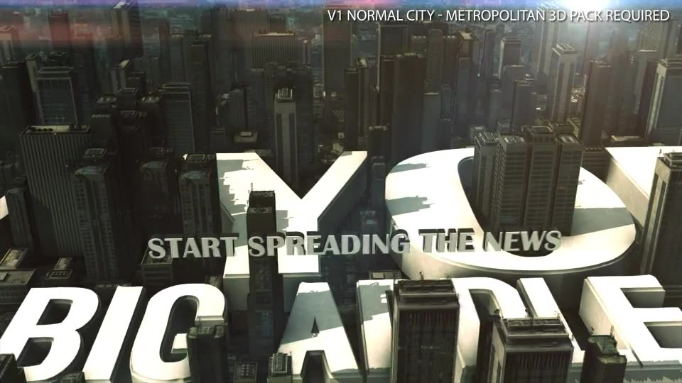 3D City Logo Videohive 24819029 After Effects Image 2