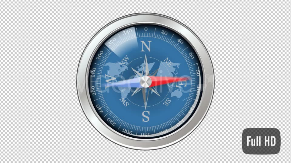 3D Compass - Download Videohive 15480644