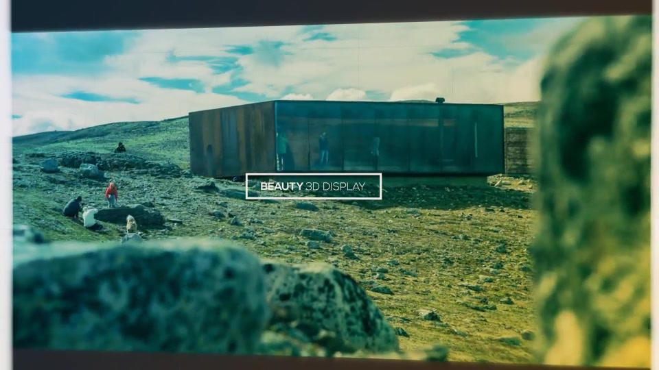 3D Cubes Wall Slideshow in 4K - Download Videohive 21136123