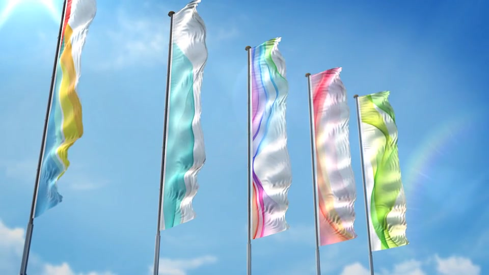 3D Flag Collection - Download Videohive 20317622