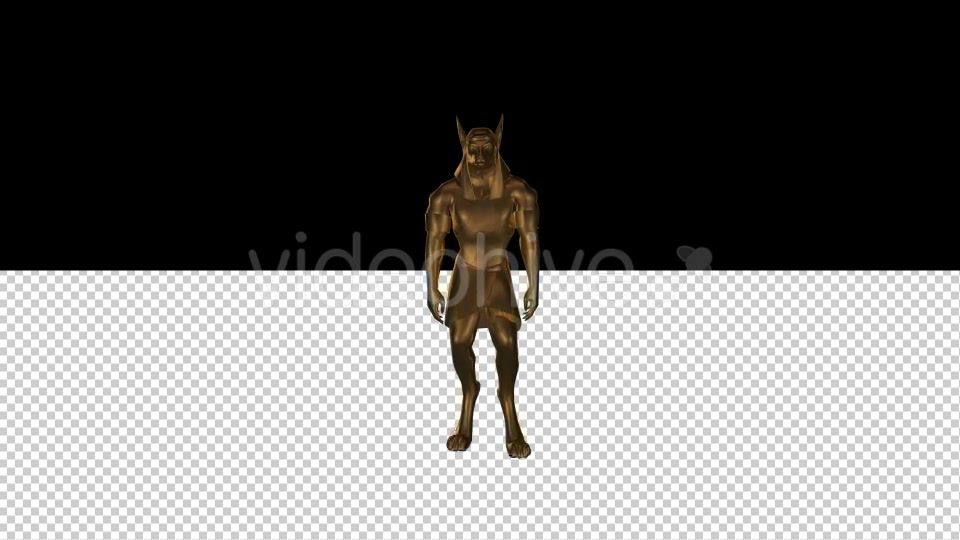 3D Gods of Ancient Egypt Anubis - Download Videohive 20304302