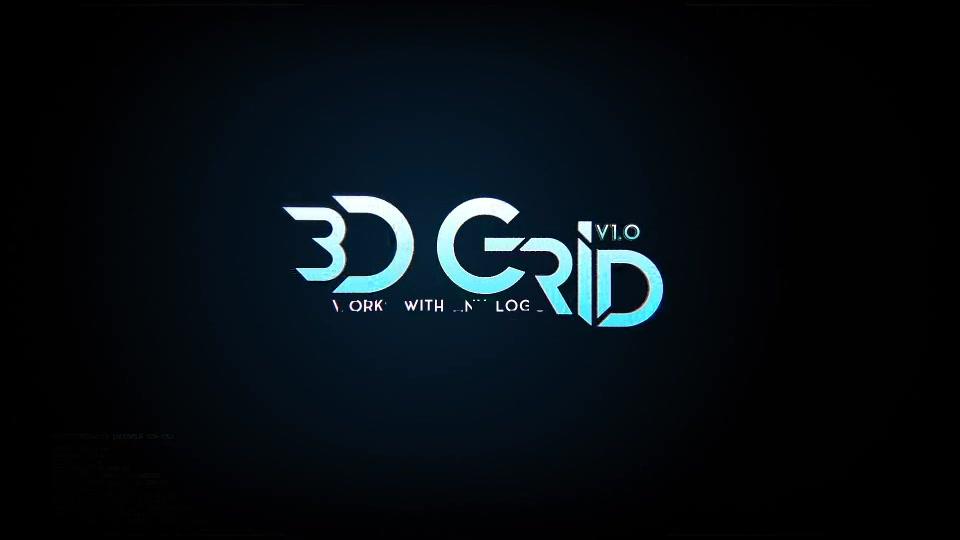 3D Grid Logo - Download Videohive 19573534