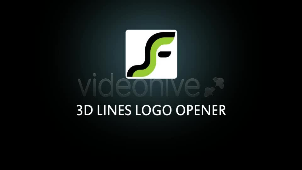3D Lines Logo Opener Videohive 2618093 After Effects Image 1