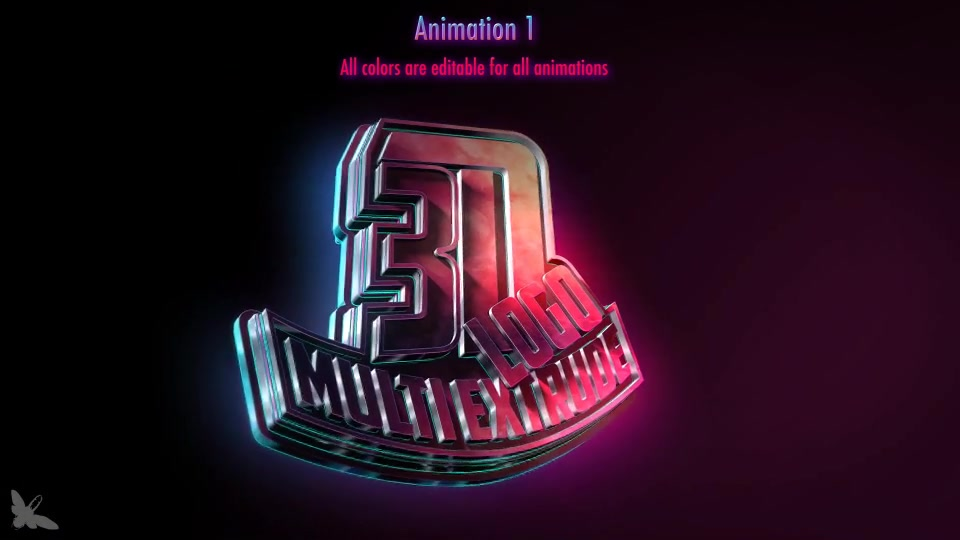 3D logo Multi Extrude - Download Videohive 15457521