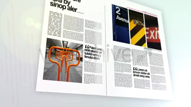 3D magazine mock up bundle - Download Videohive 86464