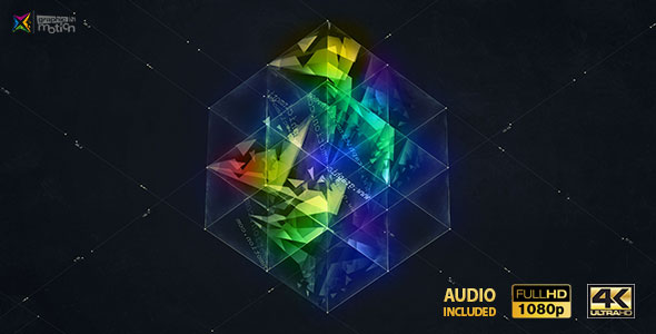3D Magic Cube Logo Reveal - Download Videohive 19290631