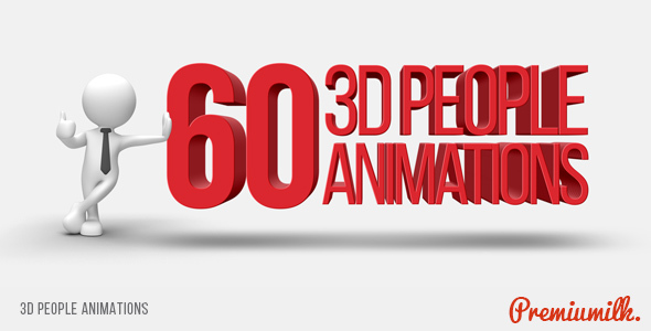 3D People Animations - Download Videohive 14993131