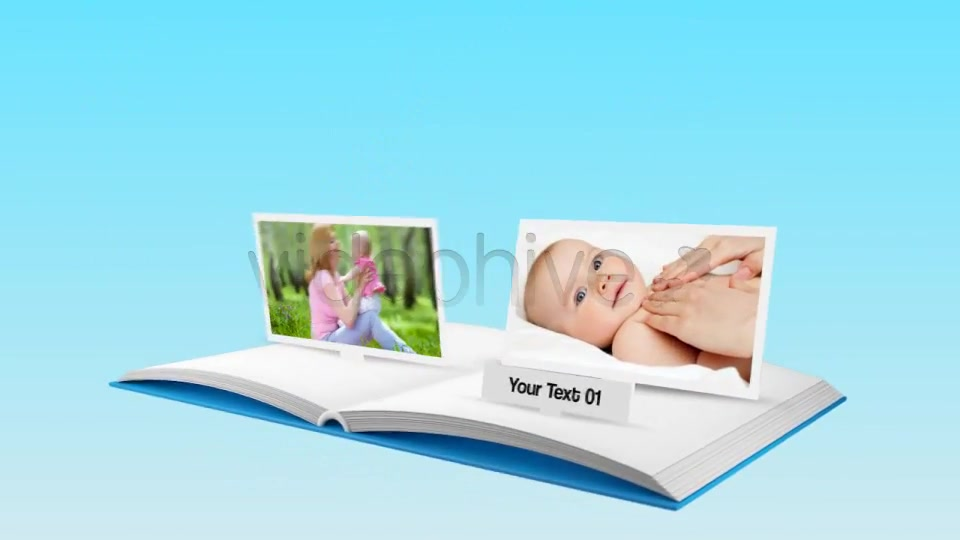 3D Popup Book - Download Videohive 1179565