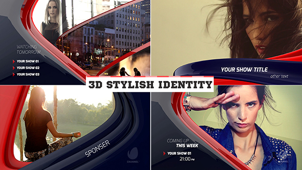 3D Stylish Identity - Download Videohive 18448528