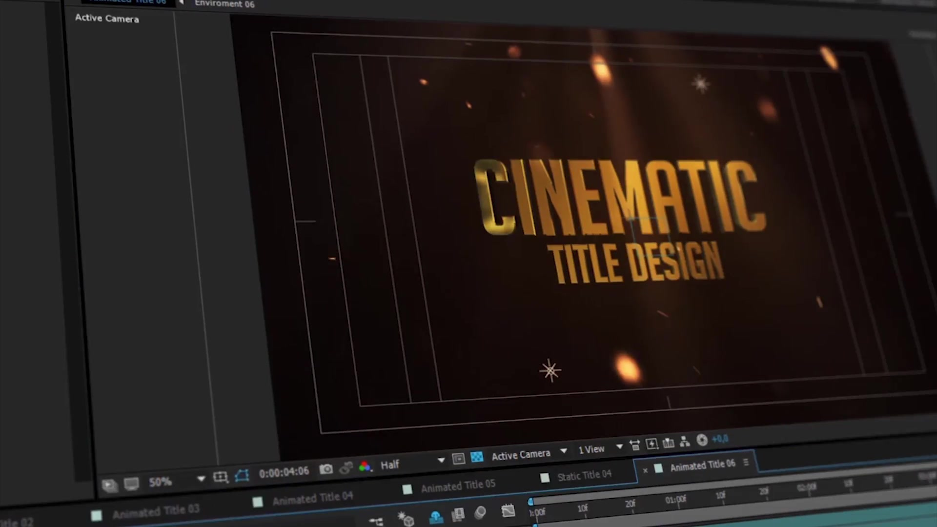 3D Titles No Plugins Rapid Download 22591174 Videohive After