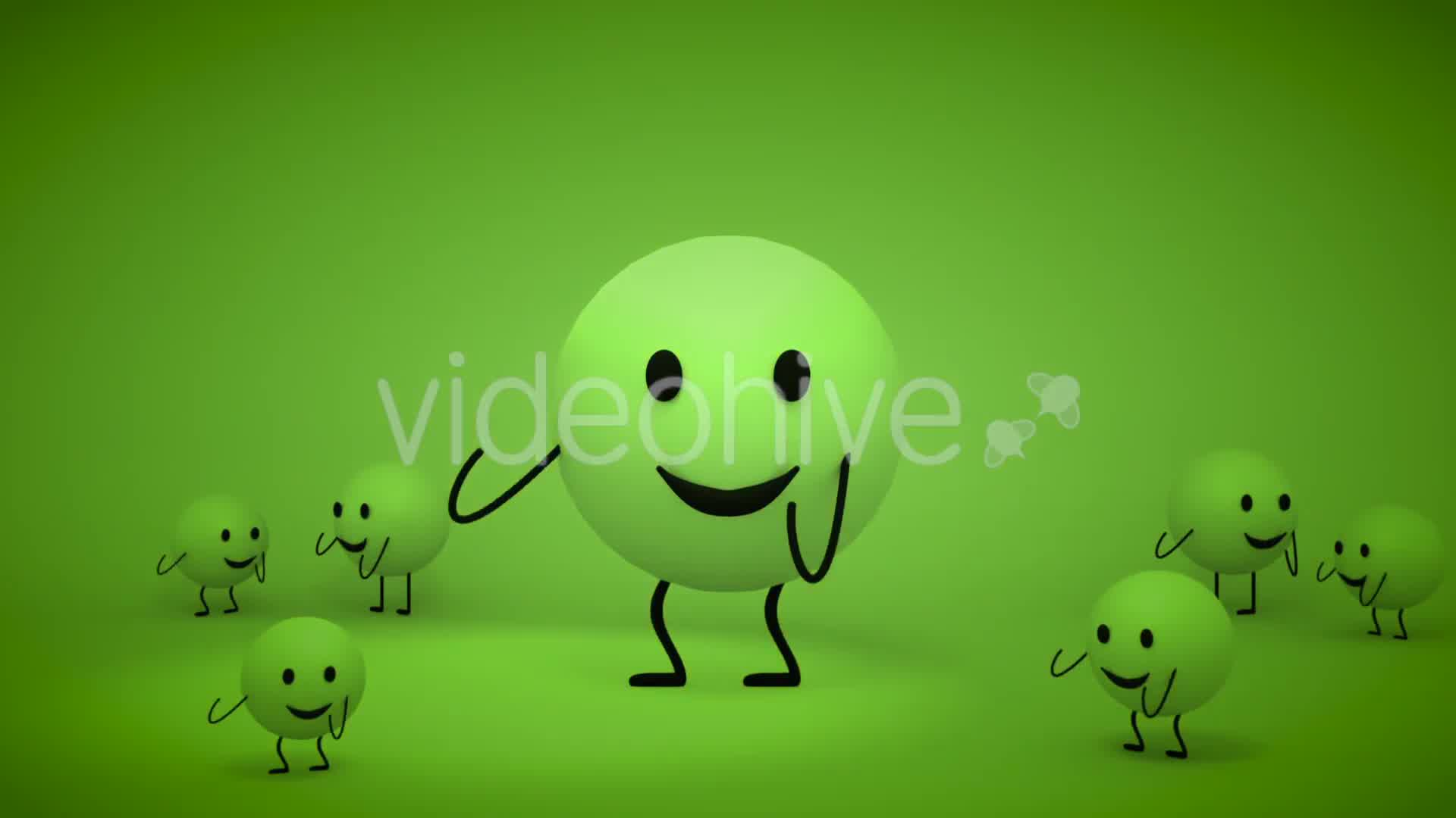 3D Toon Yellow Emoji Dance - Download Videohive 17843338