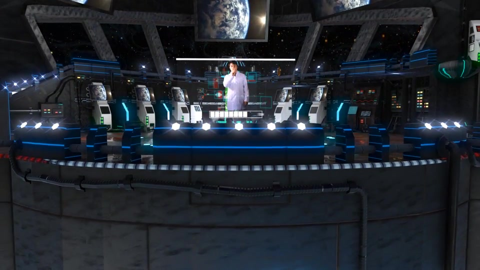 3D Virtual Studio Spaceship, Laborotory, Sci fi - Download Videohive 14542689