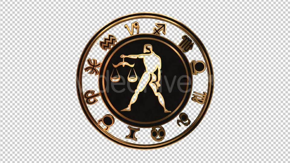 3D Zodiac Sign Libra - Download Videohive 15887609