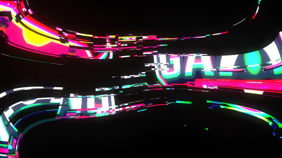 4K Glitch Logo Videohive 25578302 After Effects Image 1