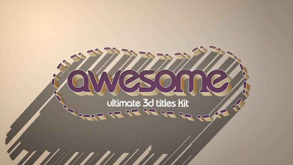 Download 4K Vintage Retro 10 Logo Text Intro Pack - Download ...