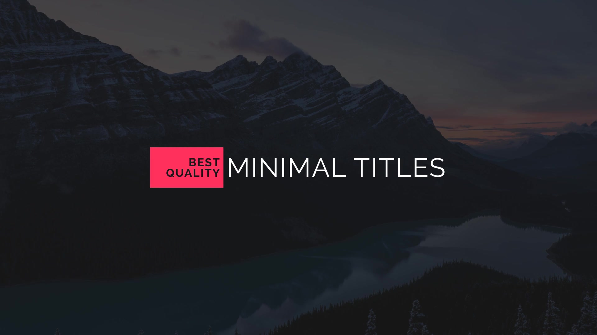 50 Minimal Titles - Download Videohive 18933067