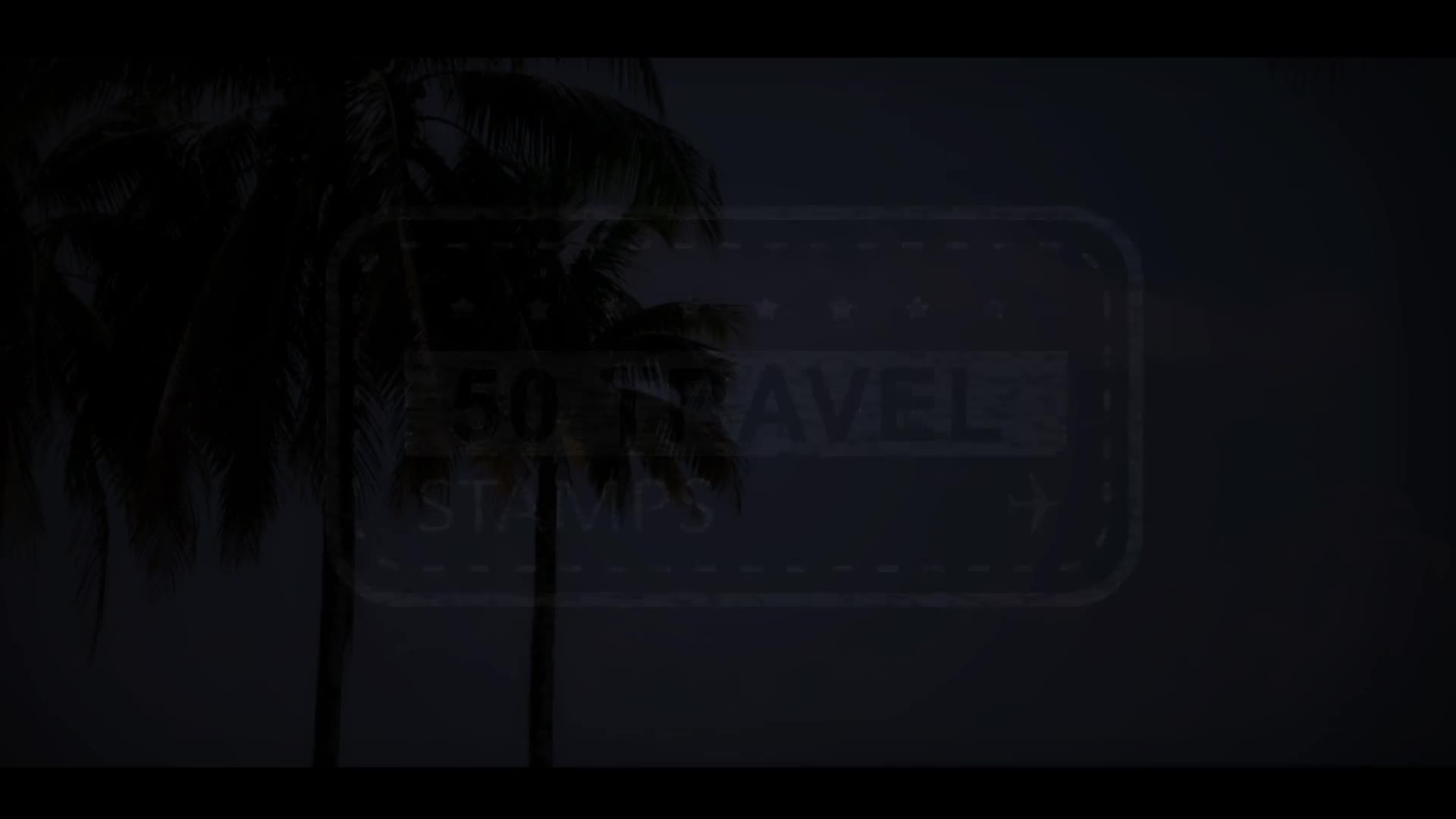 50 Travel Stamps Videohive 23673412 After Effects Image 1