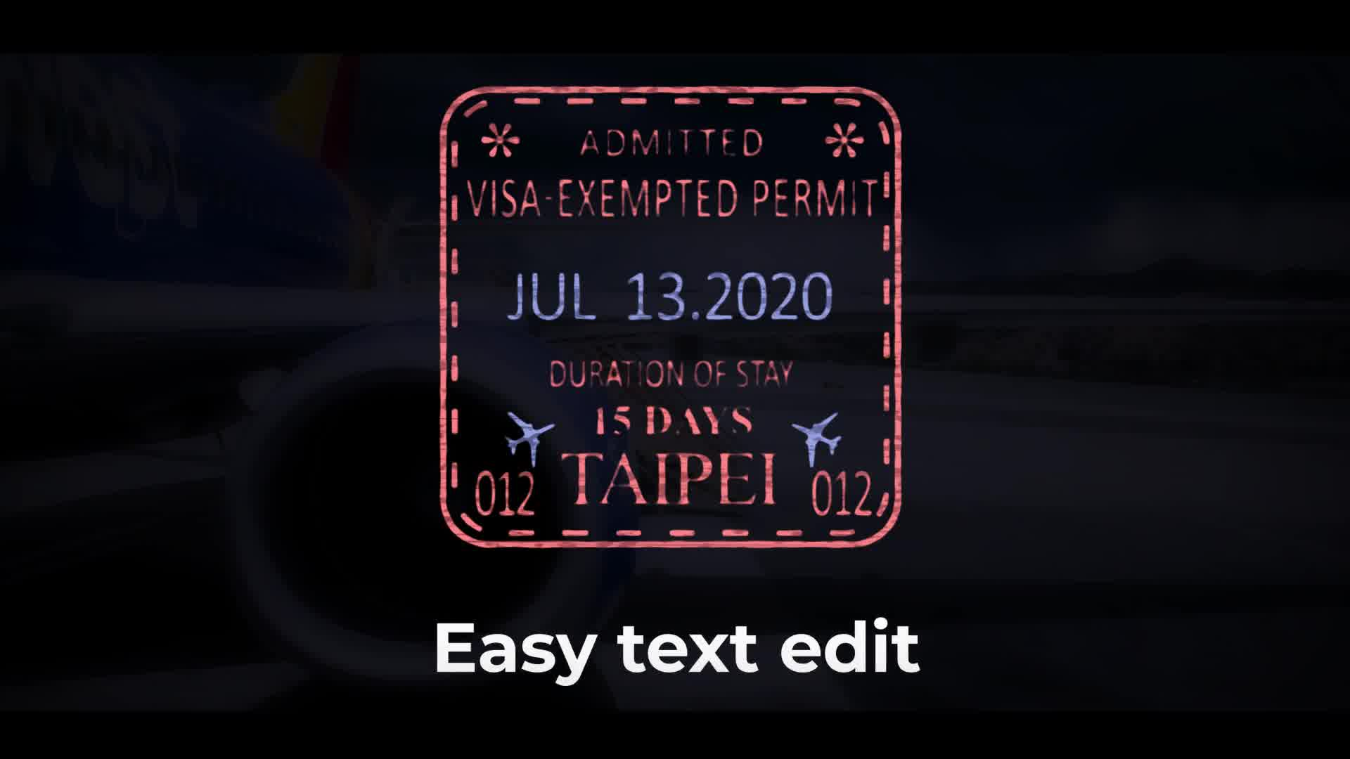 50 Travel Stamps Videohive 23673412 After Effects Image 10