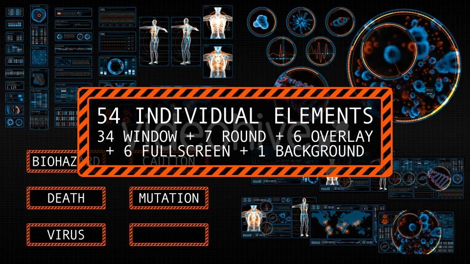 54 Medical Screens - Download Videohive 18036271