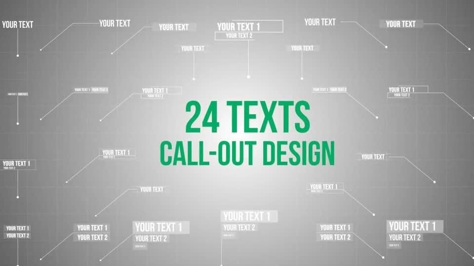 74 Call Out and Hud Design Pack - Download Videohive 12926995