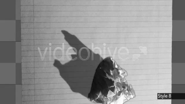 8 Crumpling / Trashing up Paper - Download Videohive 138234