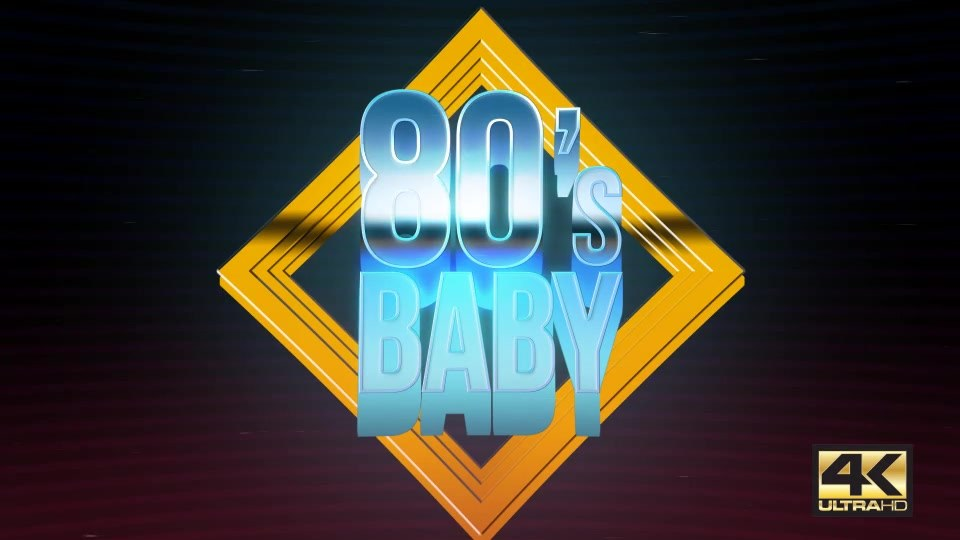 80s Baby | VHS Logo Titles Opener - Download Videohive 18657101
