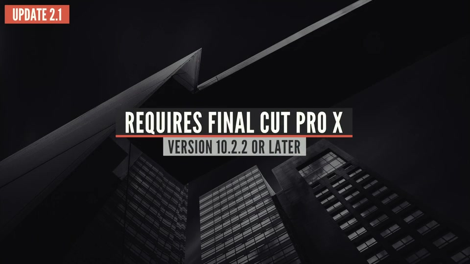 99 Final Cut X Titles Pack - Download Videohive 14050399