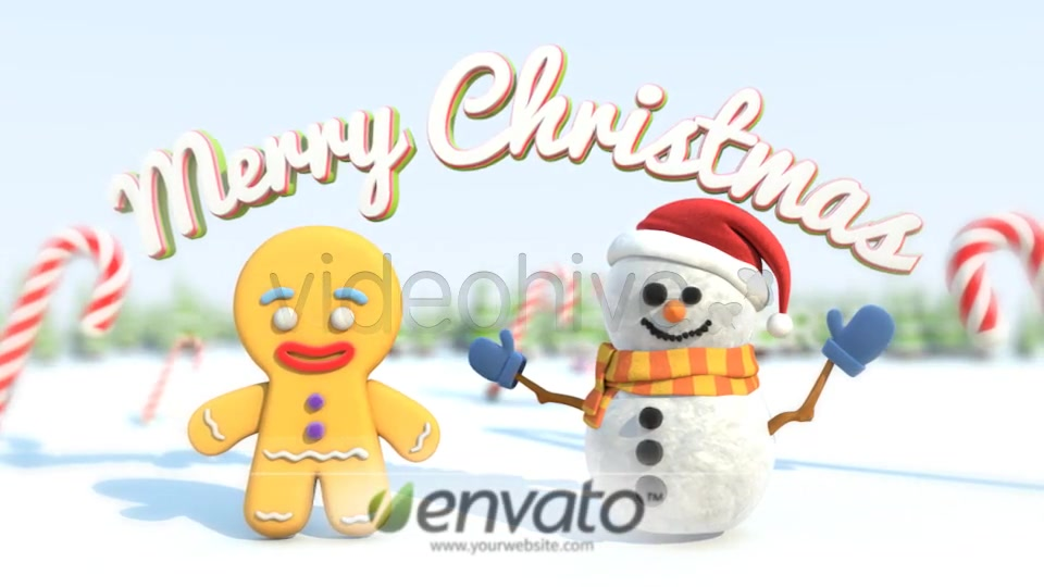 A Very Very Merry Christmas Card - Download Videohive 6105411