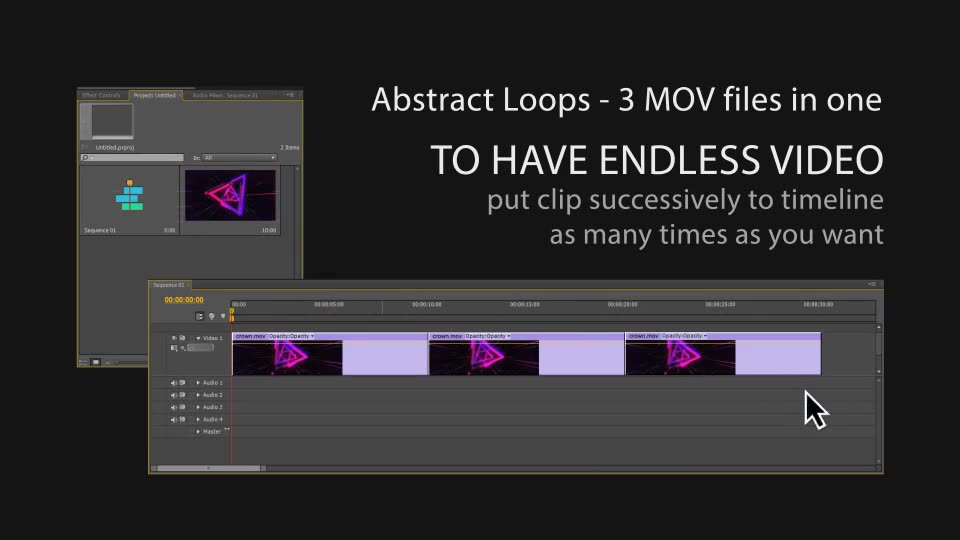 Abstract Background Loops - Download Videohive 21680700