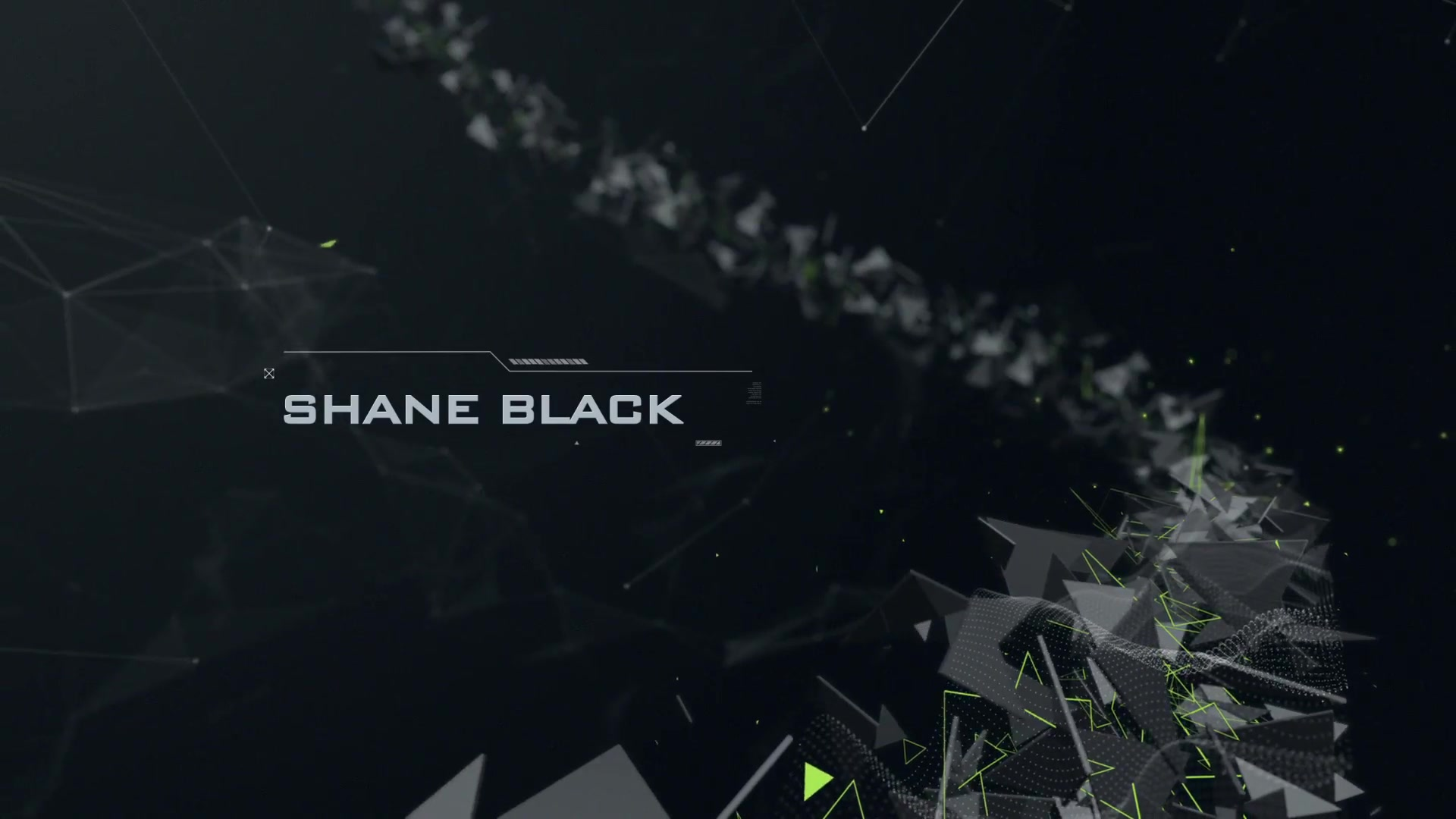 Abstract Polygons Credits - Download Videohive 13464873