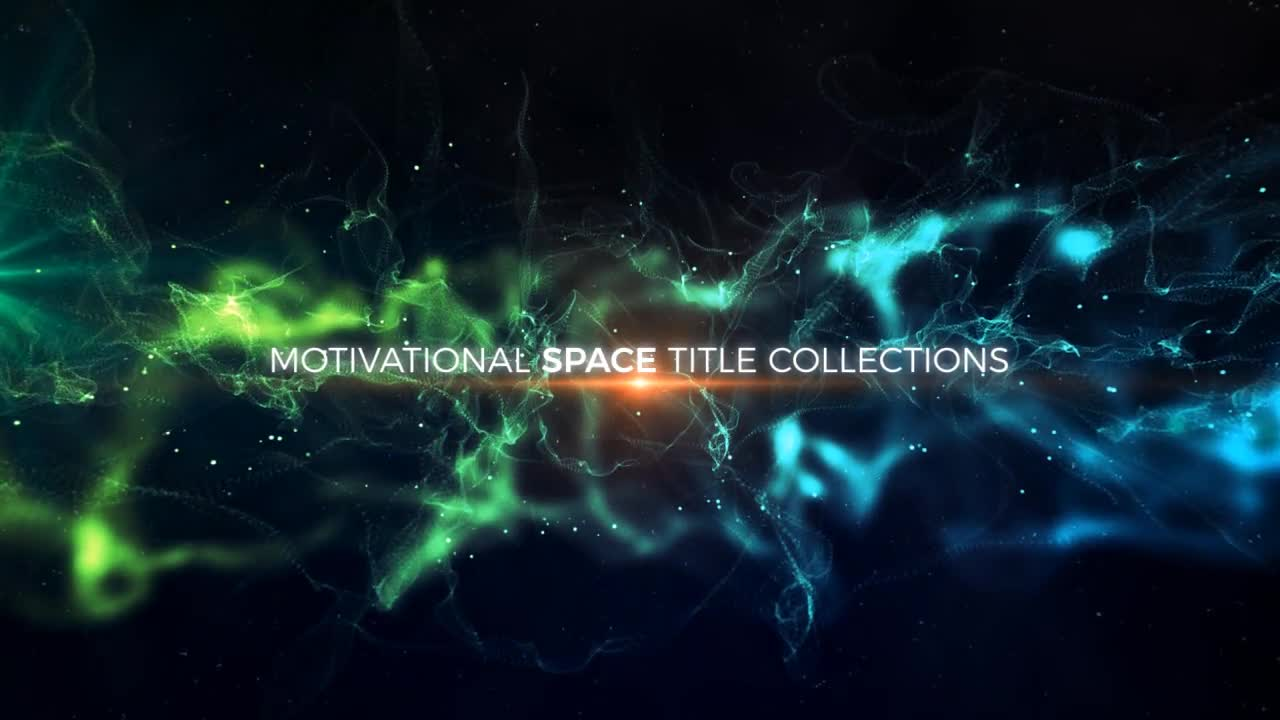 Abstract Space Titles - Download Videohive 20618095