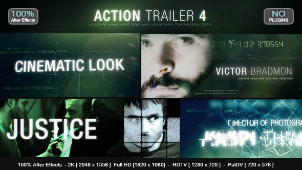 Action Trailer 4 - Download Videohive 12644712
