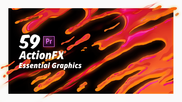 ActionFX | Fire Smoke Water Effects for Premiere Pro - Download Videohive 21789128