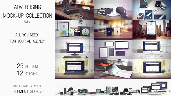 Advertising Mock Up Collection - Download Videohive 19456234