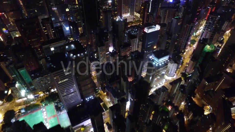 Aerial View Of City At Night  - Download Videohive 17398020