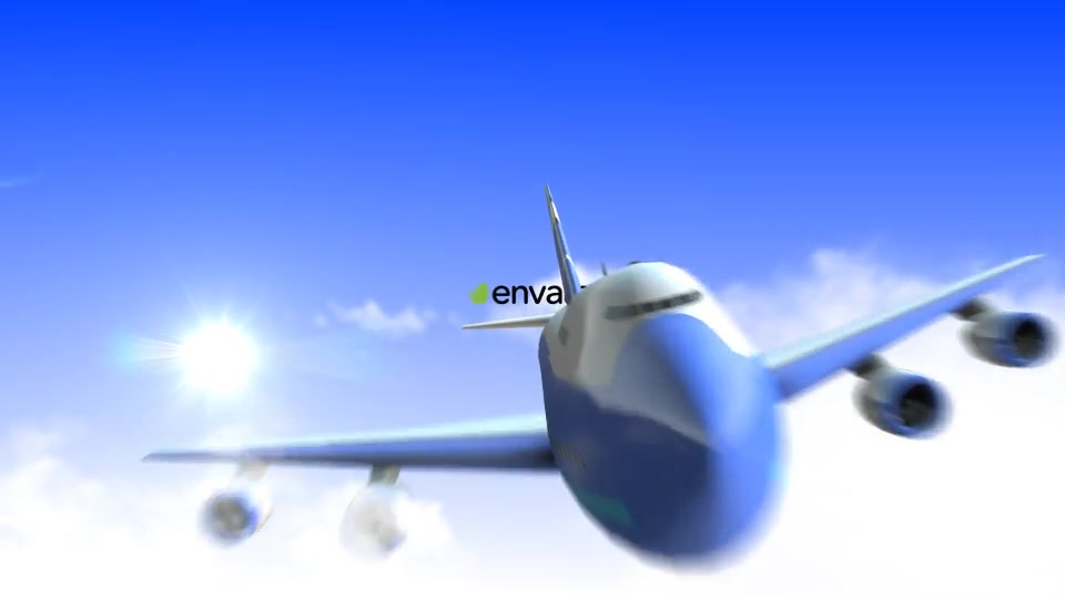 Airplane Logo - Download Videohive 13574744