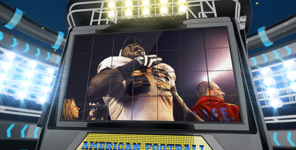 American Football Intro Ident - Download Videohive 6182381