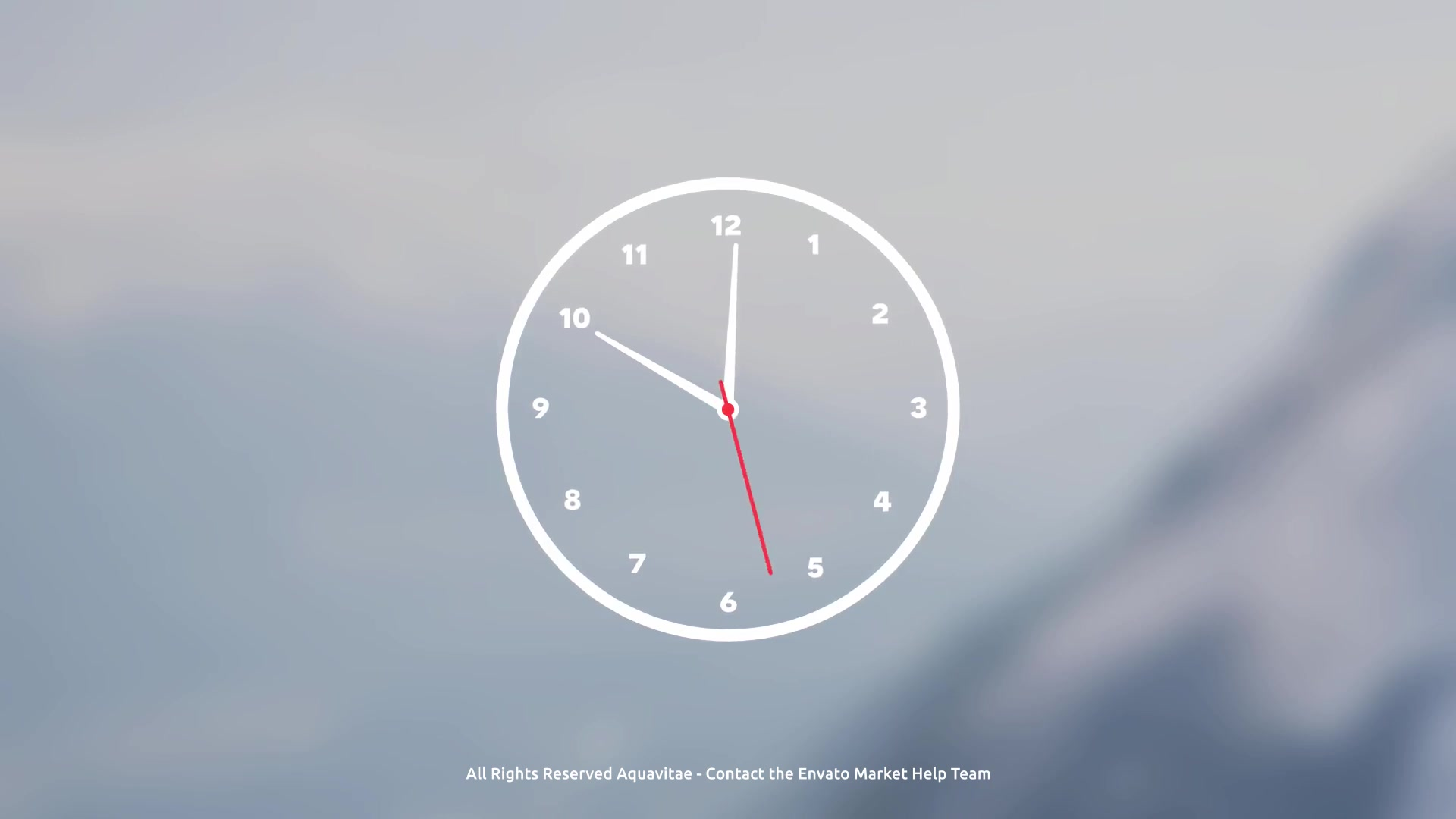 Analog Clock Creator For Premiere - Download Videohive 21806398