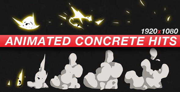 Animated Concrete Hits Anime Action Essentials - Download Videohive 624348