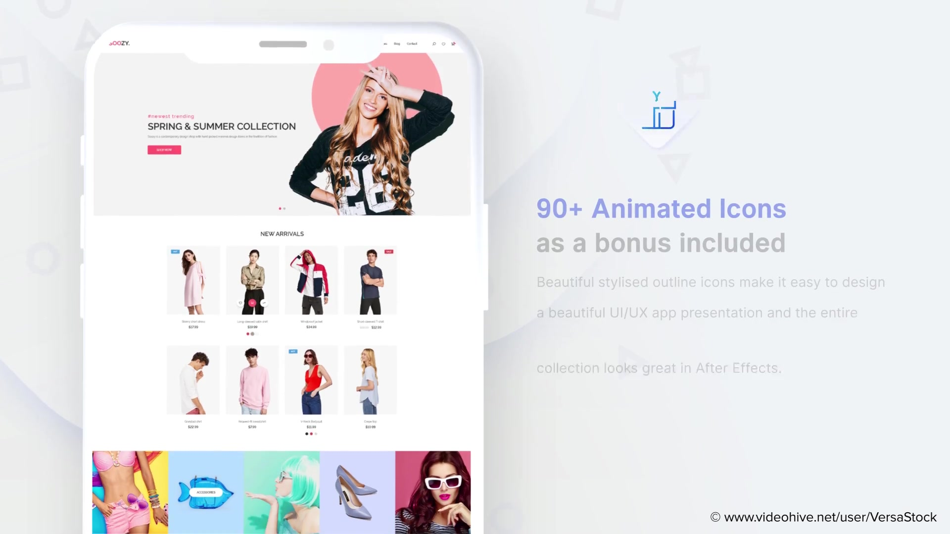 After Effects Website Animation