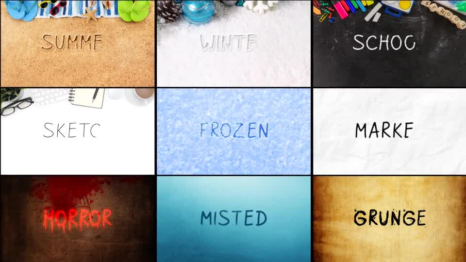 Animated Handwriting Bundle - Download Videohive 21054513