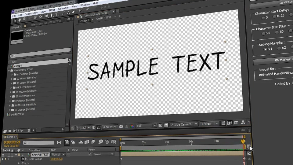 Handwriting after effects project torrent