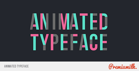 Animated Typeface - Download Videohive 19336339