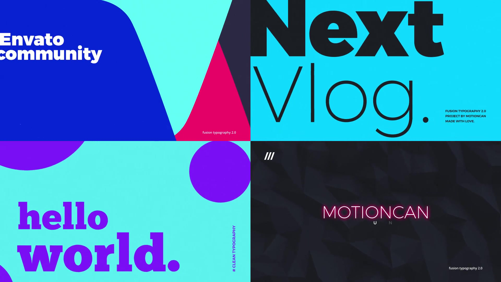 Animated Typography - Download Videohive 21390150