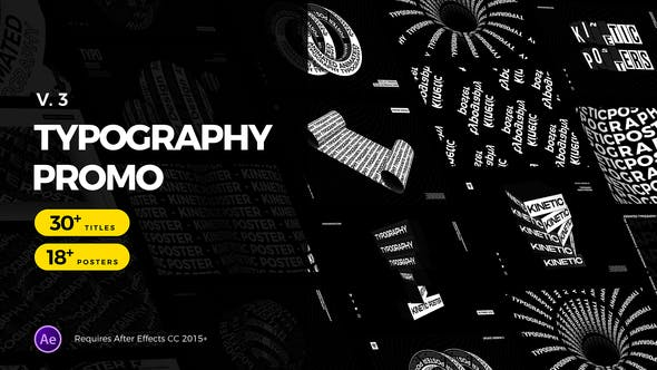 Animated Typography Promo - 24678801 Download Videohive