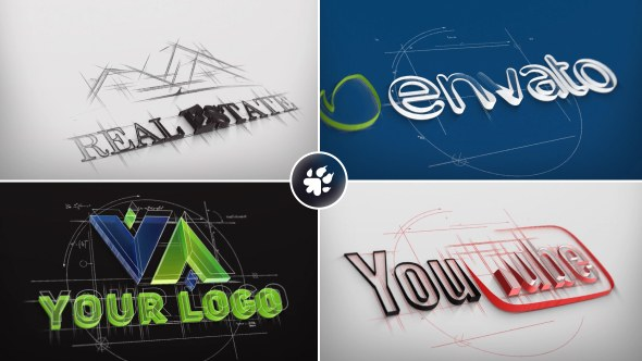 Architect Sketch Logo - Download Videohive 19615545