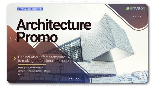 Architecture Business Promotion Slideshow - Download Videohive 24827639