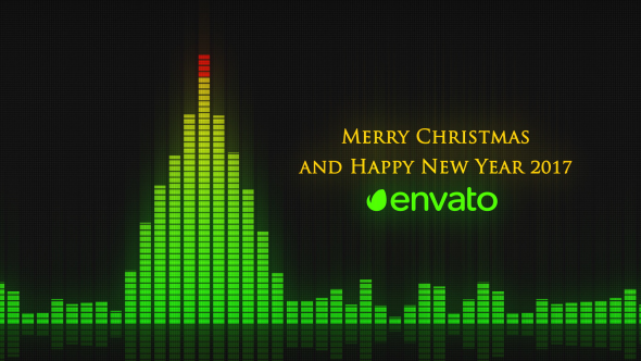 Audio Meter Christmas Wishes - Download Videohive 19031292